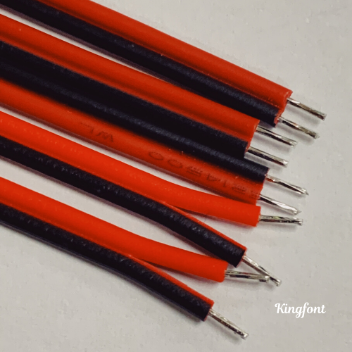 Kingfont's custom-made cable assembilies