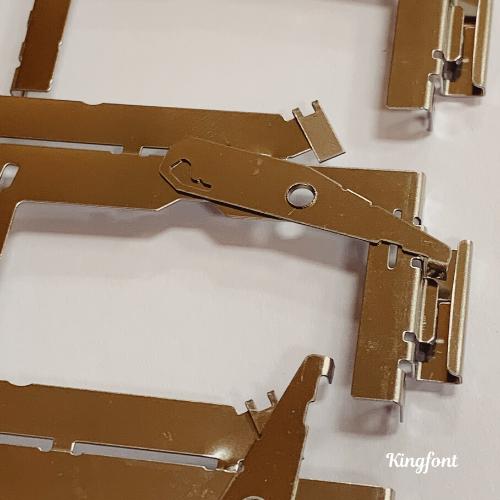 Kingfont's custom-designed stamping part